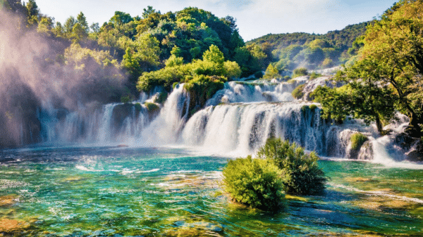 The Krka Waterfalls in VIP Style