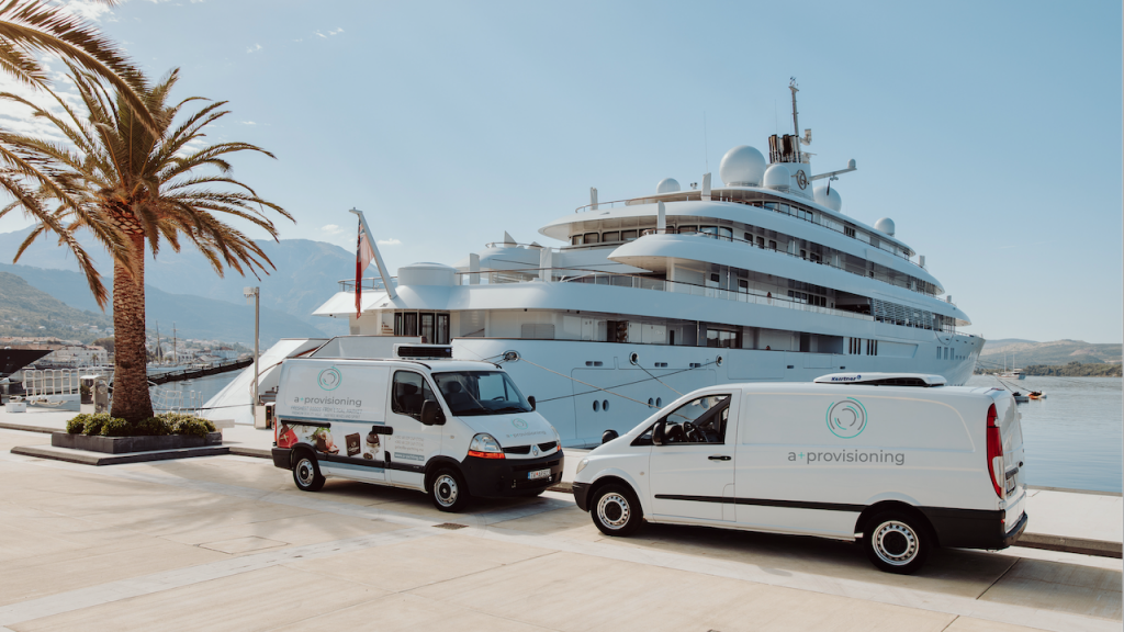 Yacht Supply in Croatia and Montenegro | A+ Yachting