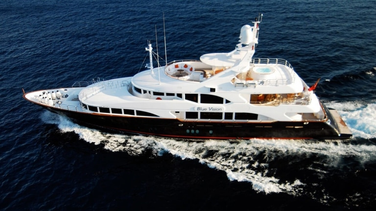 M/Y Blue Vision | A+ Yachting