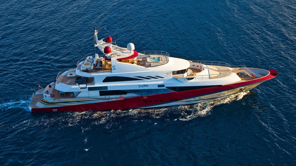 M/Y Joy Me | A+ Yachting