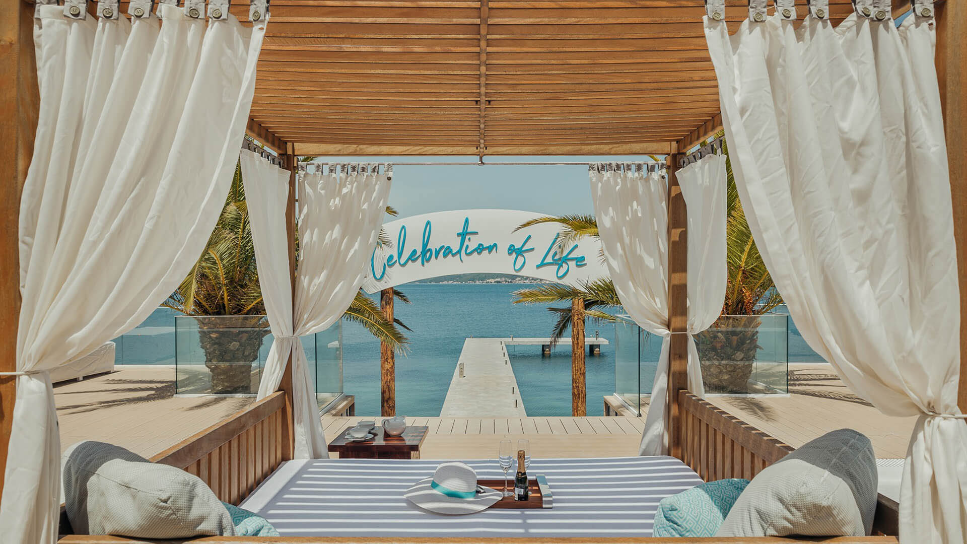 Tell Only Your Best Friends: The Nikki Beach Hotel & Beach Club finally opened in Montenegro