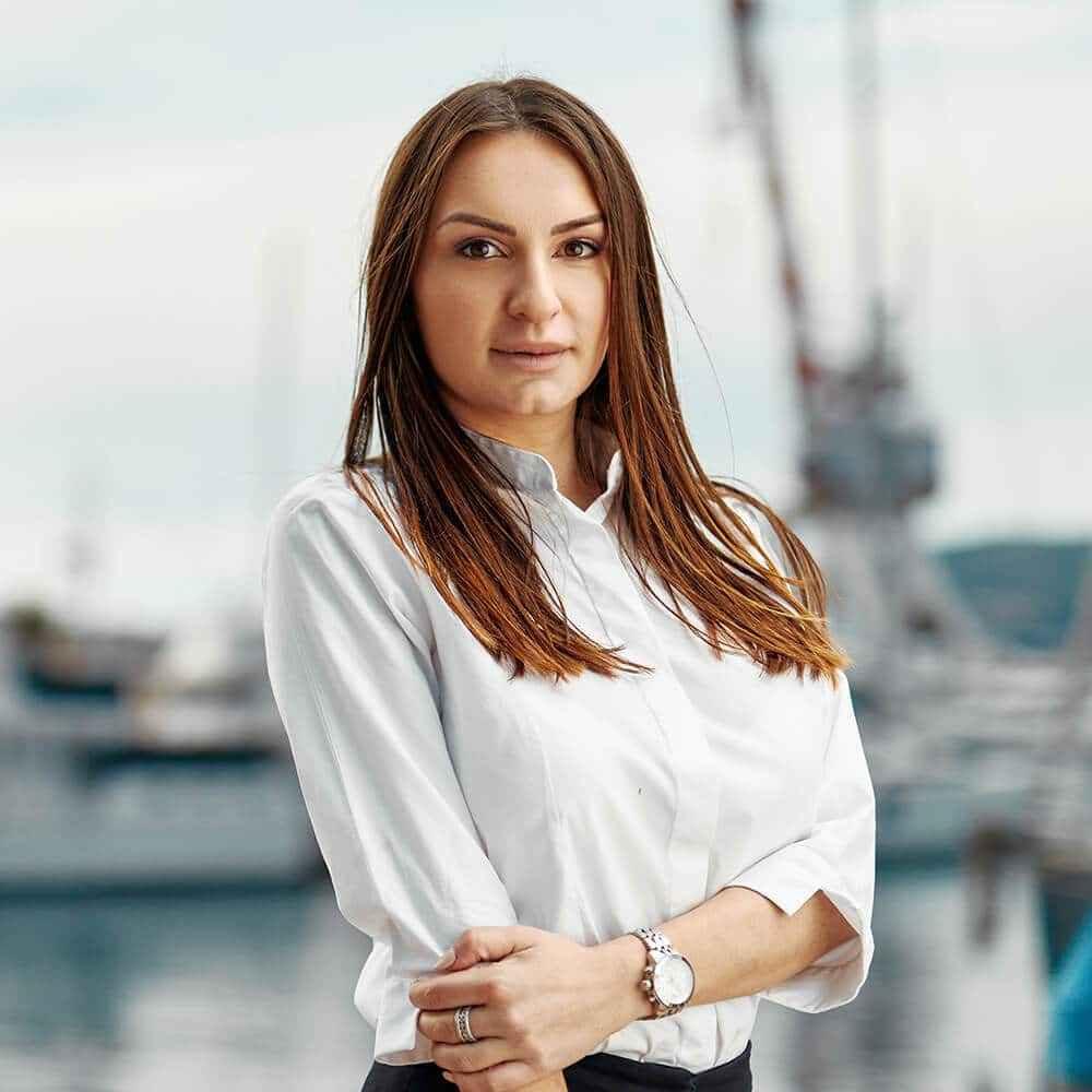 Our Team - Maja Vucinic | A+ Yachting